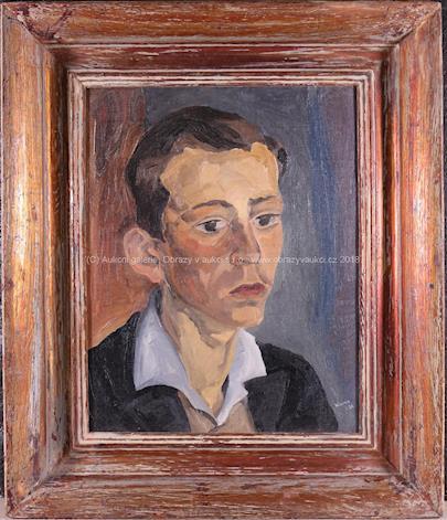 Georges Kars - Portrét mladého muže
