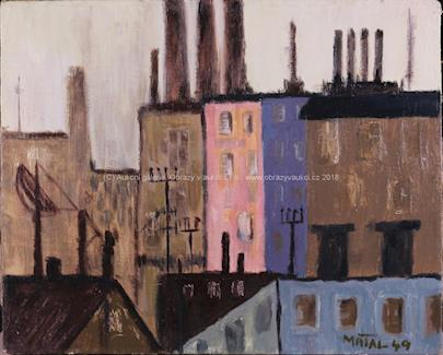Bohumír Matal - Městský motiv