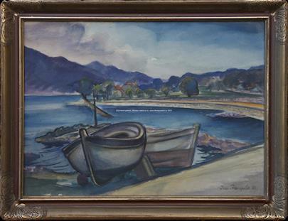 Jan Trampota - U moře