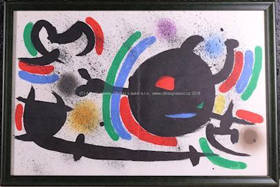 Joan Miró - Litographe Originale (X)