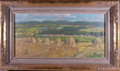 Josef Houdek - Krajina u Lhotky na Berounsku