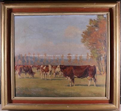 Emil Kotrba - Krávy na pastvě
