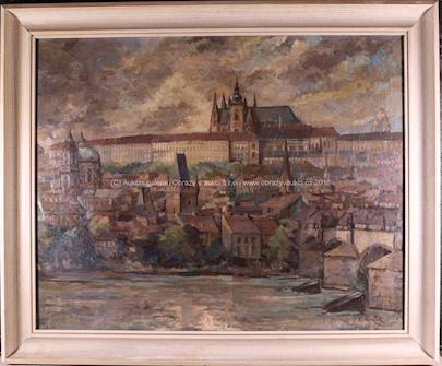 Emanuel Knížek - Pražské panorama