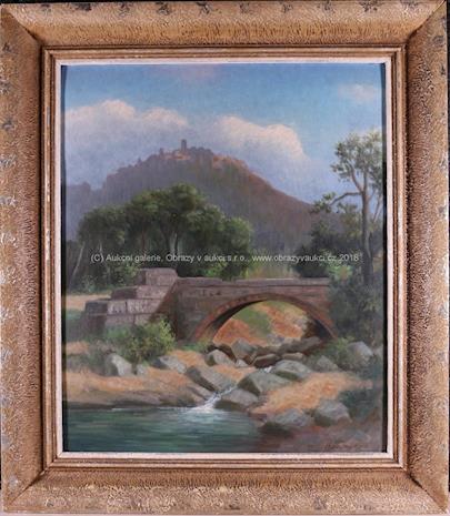 Charles Mayer - Pod hradem u mostu
