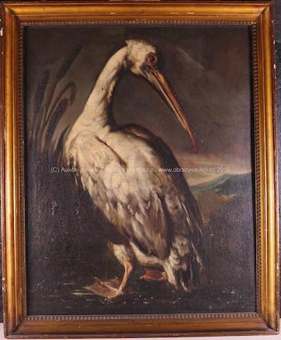 evropský malíř 18. stol. - Vodní pták