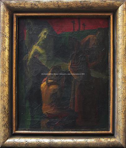 Vincent Hložník - Biblický výjev