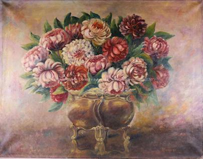 L. Hezanová - Dekorativní kytice