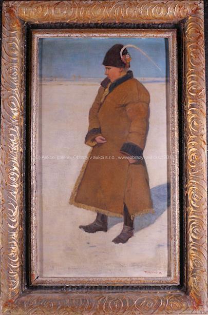 Vincent Plesnivý - Mladík v kožichu