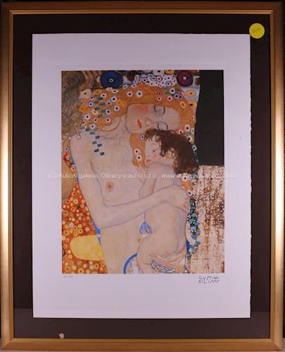 Gustav Klimt - Mateřství
