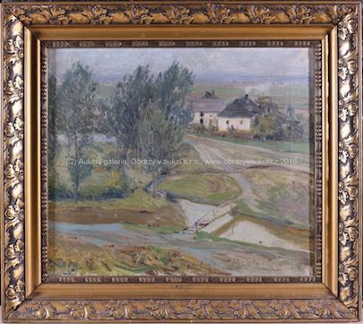Alois Kalvoda - Za vesnicí