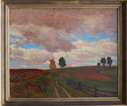 Antonín Hudeček - Podzimní krajina