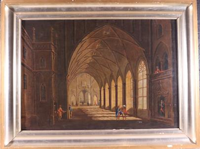 Ludvík Kohl - Gotická síň