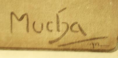 Alfons Mucha - Loterie Národní jednoty pro jihozápadní Moravu v Brně