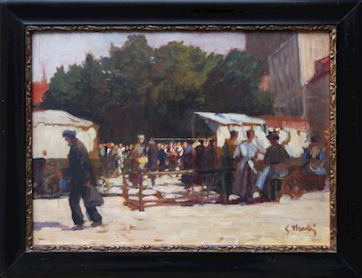 Gustav Mallý - Na trhu