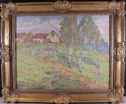 Josef Ullmann - Břízky u chalup