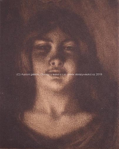 T. F. Šimon - Dívčí tvář