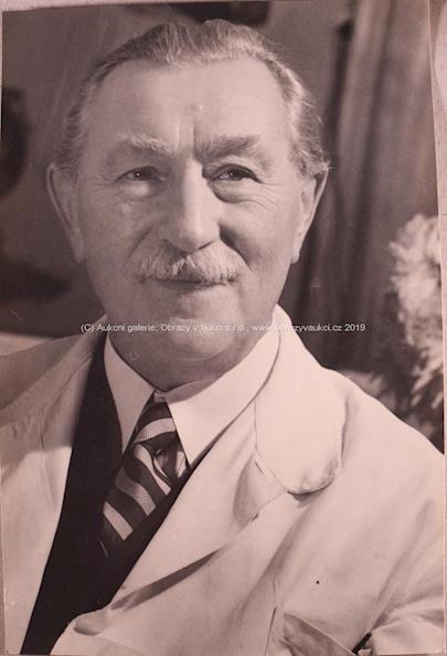 Zdenko Feyfar - Portrét a Busta Antonína Zápotockého