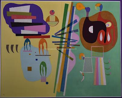 Vasilij Kandinsky - Barevná kompozice