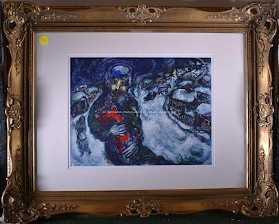 Marc Chagall - Vjezd do vesnice