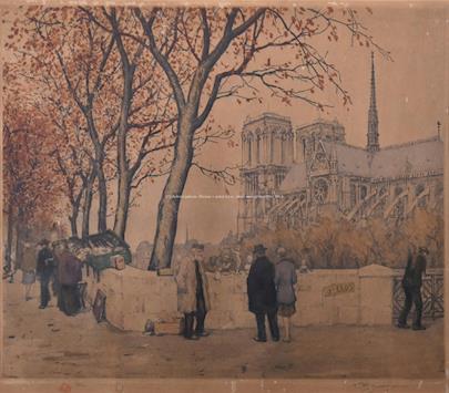 František Šimon Tavík - Bukinisté u Notre Dame