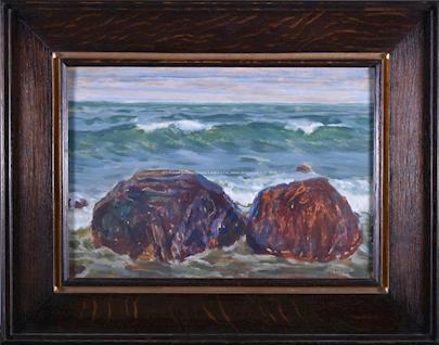 Antonín Hudeček - Mořské vlnobití
