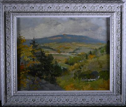 František Karel Hron - Stavení mezi kopci