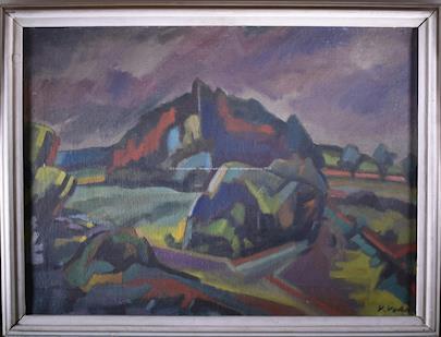 Václav Vodák - Krajina pod mrakem