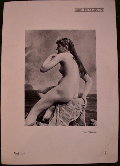. - Soubor 19 erotických ex libris a 6 fotografií