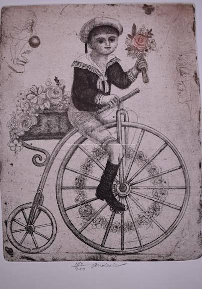 Anderle - Chlapec na kole