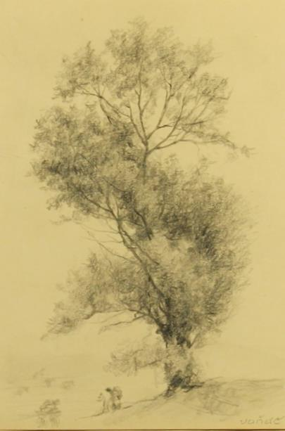 Otakar Vaňáč - Posezení pod stromem