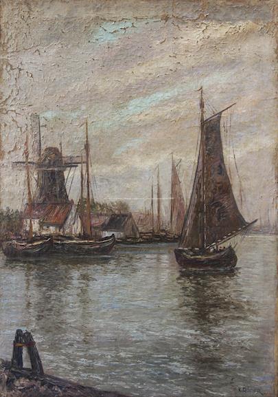 K. Röder - V přístavu