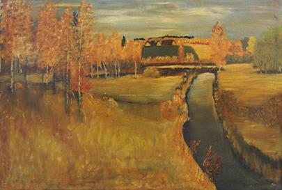 nesignováno - Podzimní krajina