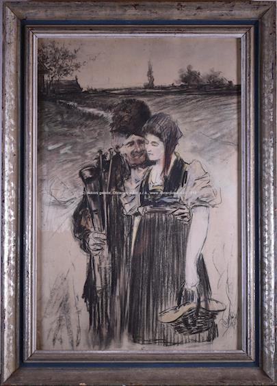 Karel Rašek - Stařec s dívkou