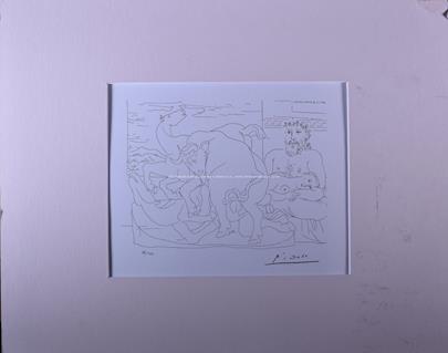 Pablo Picasso - Mytologická scéna