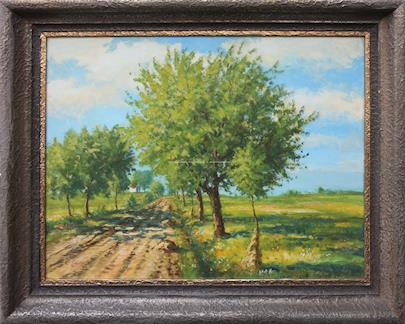 Karel Langer - Stromy u cesty
