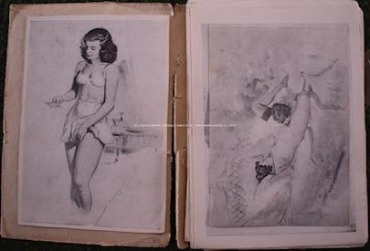 Paul Dandin - Soubor 44 erotických motivů