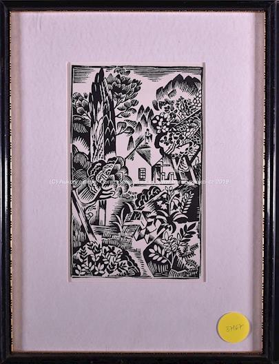 Bohumil Kubišta - Dům v zahradě