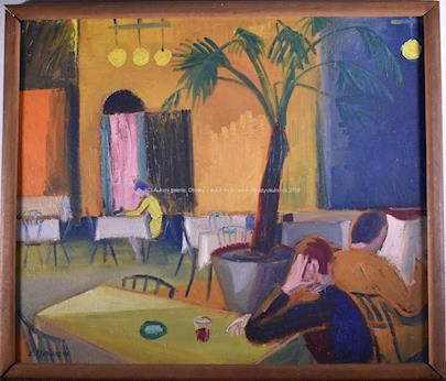 Eugen Nevan - V kavárně