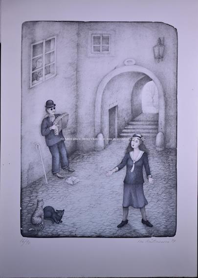 Iva Hüttnerová - Slepý harmonikář