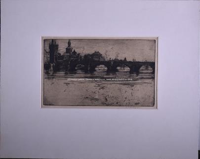 Jan Charles Vondrouš - Soubor 2 prací: Benátky a Karlův most