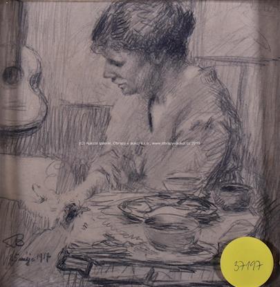 Alois Bílek - U stolu