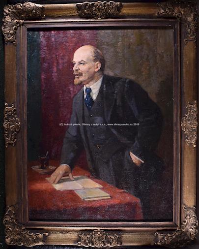 Pieter Vasiljev (1909-1989) - V. I. Lenin