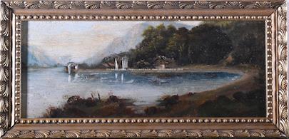 Nesignováno (středoevropský malíř druhé poloviny 19. století) - V zátoce