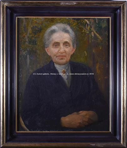 Jaroslav Malinský - Portrét ženy