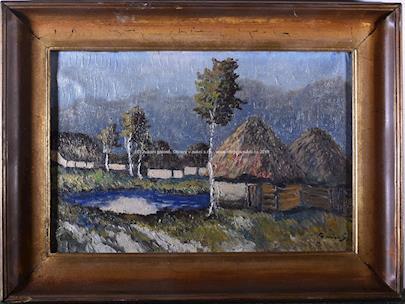 František Horký - Břízky u chalup