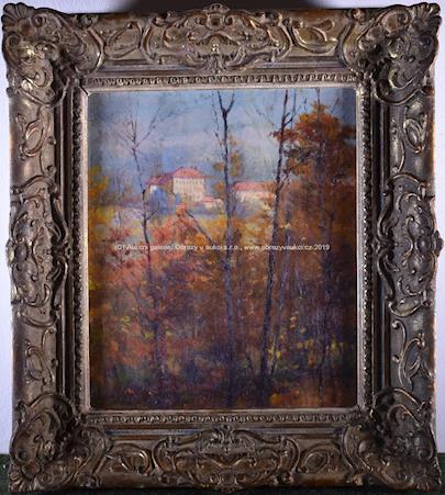 Karel Langer - Podzimní stromy