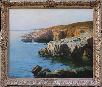 Josef Písecký - Skály u moře