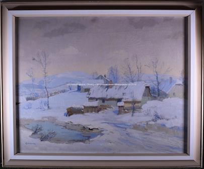 Bohumil Berghauer - Zimní chalupy