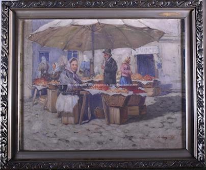 Antonín Augusta - Ovocný trh