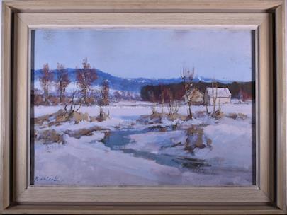 Karel Balíček - Zima na Vysočině